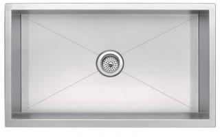 Zero Radius Single Bowl Undermount Sink