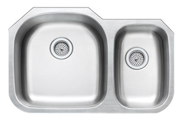 70/30 Stainless Steel Kitchen Sink