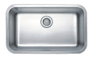 18ga Single Bowl Stainless Steel Kitchen Sink