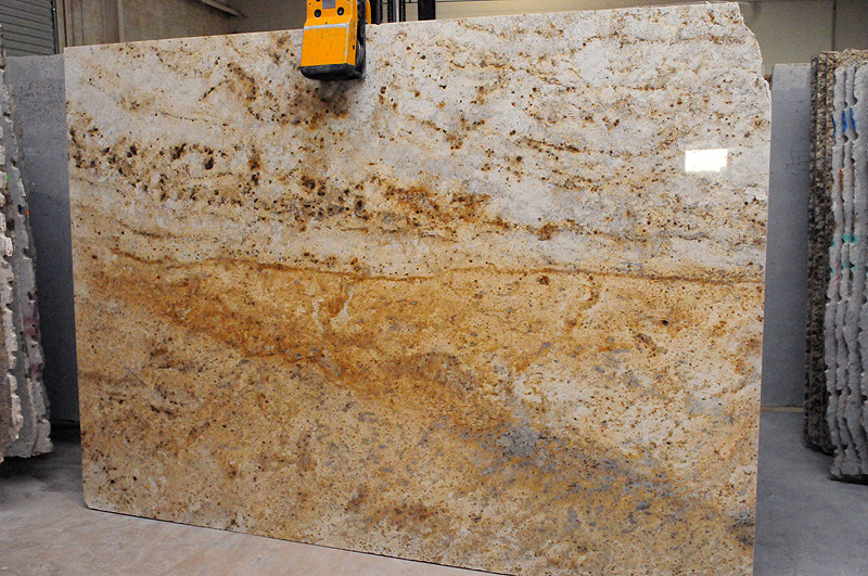Colonial Gold Granite Slabs. Colonial Gold