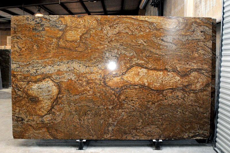 Golden Granite Slab Countertops : Golden sparkle granite