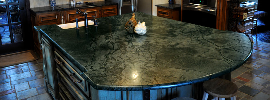 custom-soapstone-island-with-demi-bullnose-edge