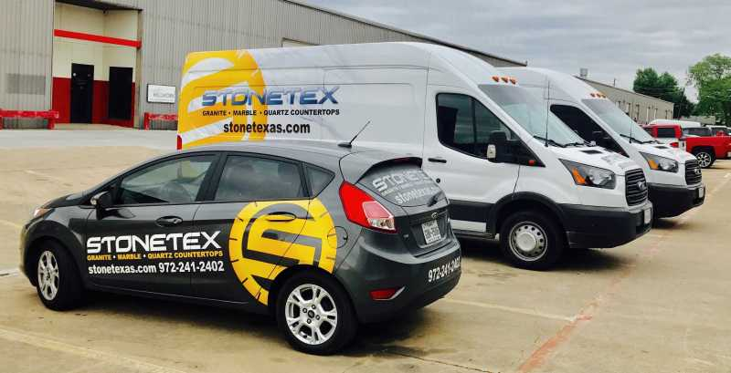 Stonetex Fleet Vehicles