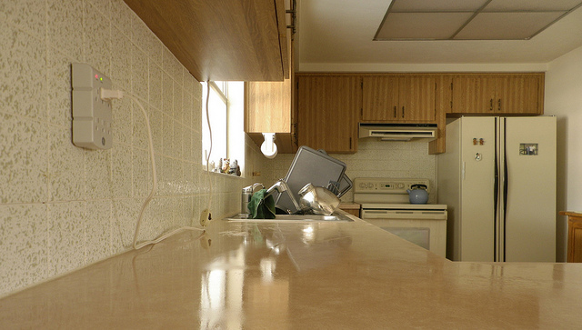 how to clean up granite countertops