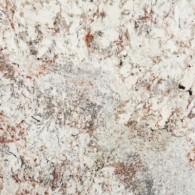 White Spring Granite – Cream Meets Grays and Red Blush