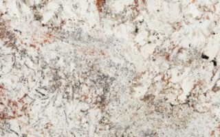 White Spring Granite – Cream Meets Grays and Red Blush