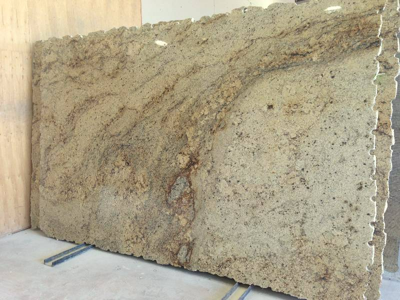 Picture of a Sienna Beige Granite Slab