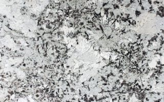 Alaska White Granite – Dazzling Black Veins on an Icy White & Gray Background
