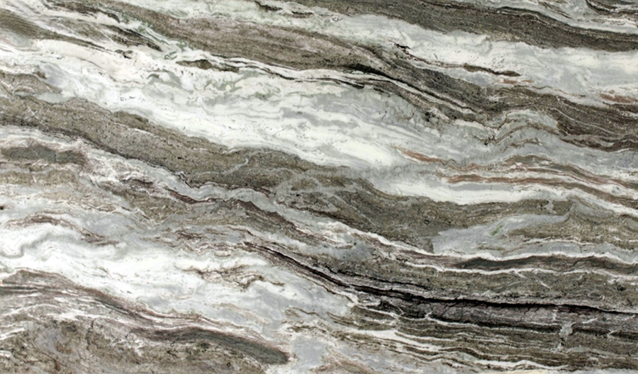 Brown Fantasy Granite - Premium, Exotic Veins of White
