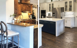 Before & After: This Transitional Kitchen gets a Lincoln Quartz refresh.