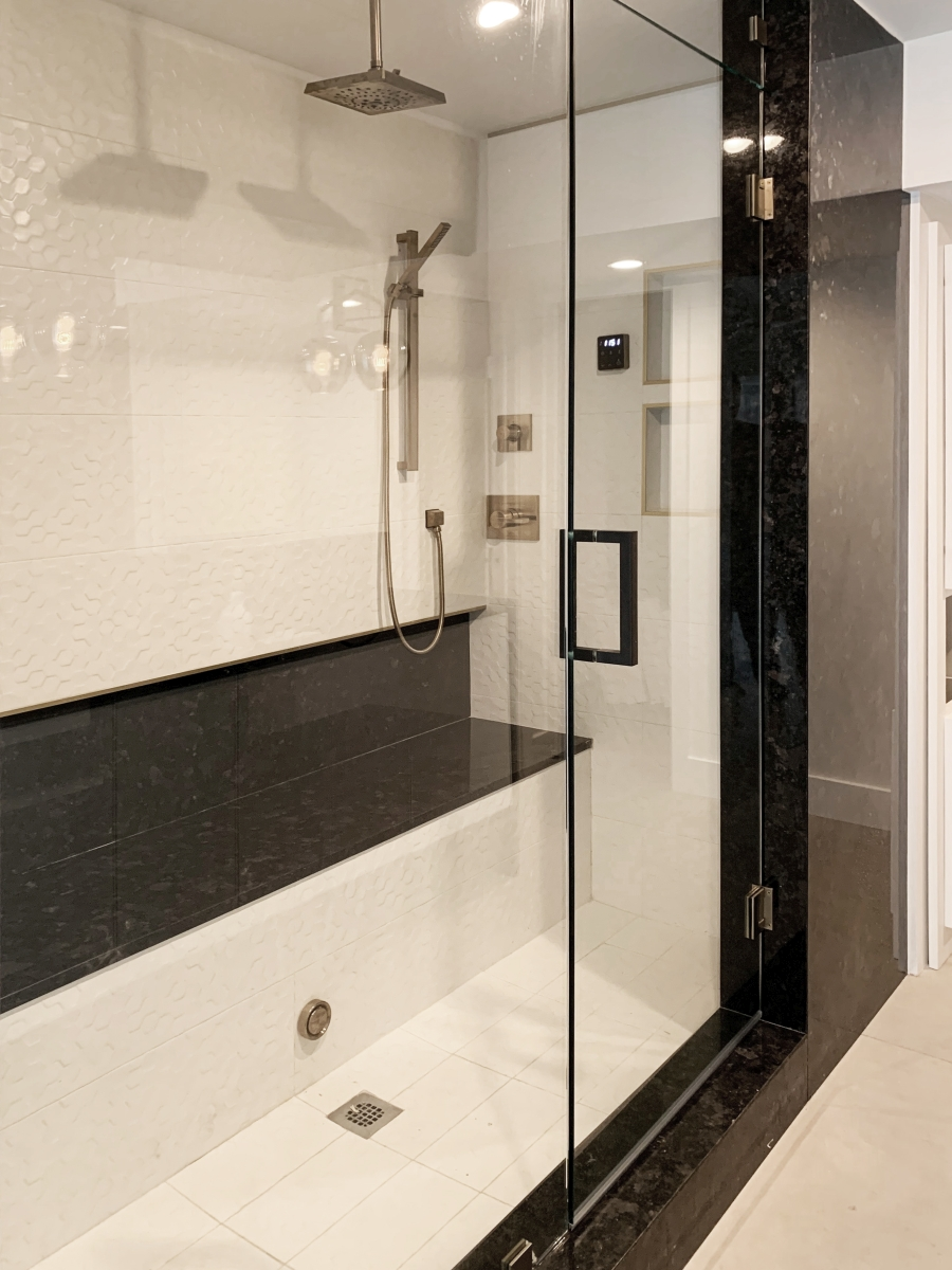 Antique Brown Master Shower