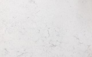 Daltile Impero Carrara Quartz – 3CM White Slabs with Light Grey Veins
